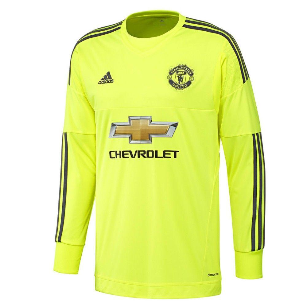 new arrival 8d8fd 518e4 The adidas Manchester United 2015/16 Kids Away Goalkeeper ...
