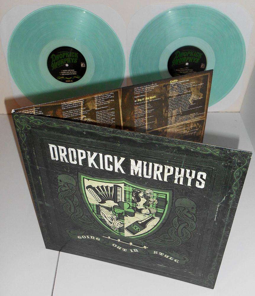 Dropkick Murphys Going Out In Style Dbl Lp Clear Light Green Vinyl W Bonus Trk Vinyl Sales Vinyl Dropkick Murphys