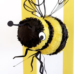 Tutorial For A Papier Mache Beecute Bee Themed Party