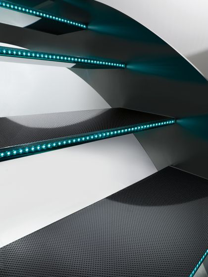 Escaliers-Ascenseurs | Madras® glass for stairs. Check it out on Architonic