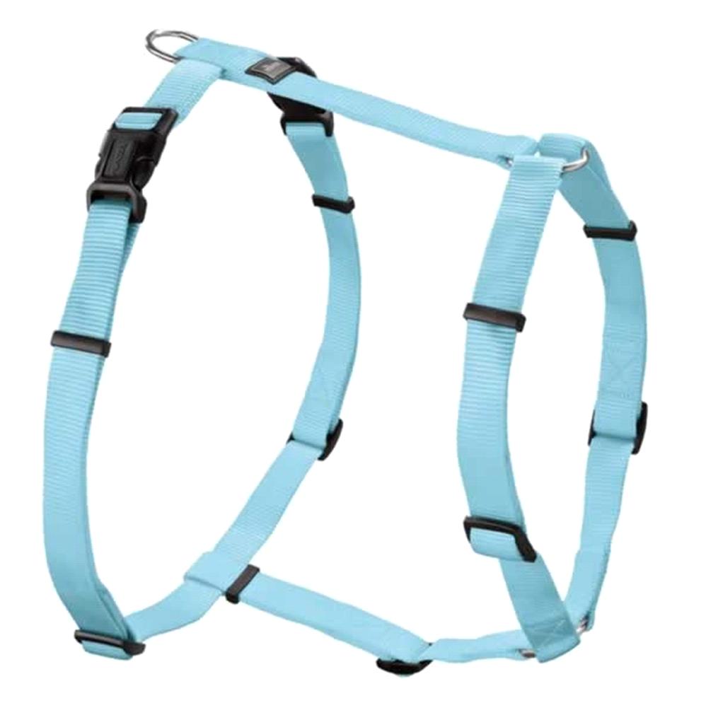 Hunter Nylon Vario-Rapid Puppy Geschirr Gr. XS/10 - 30-40 cm hellblau