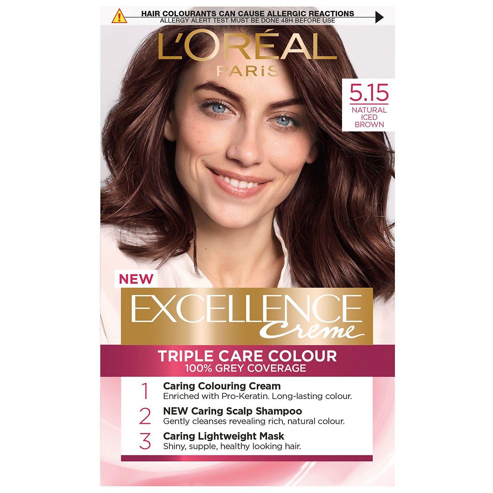 L Oreal Paris Excellence Creme Permanent Hair Dye Various Shades Brown Hair Dye Permanent Hair Dye Golden Brown Hair