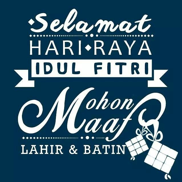 Happy Eid Mubarak Lebaran Kutipan Bijak Kata Kata Mutiara