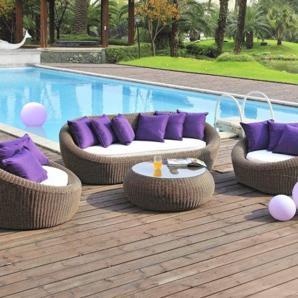 Polyrattan Mobel Sitzgruppe Wicker Garden Furniture Rattan
