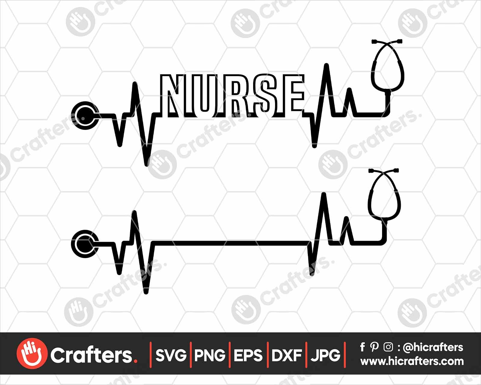 Pin on Health Workers SVG Nurses SVG Files