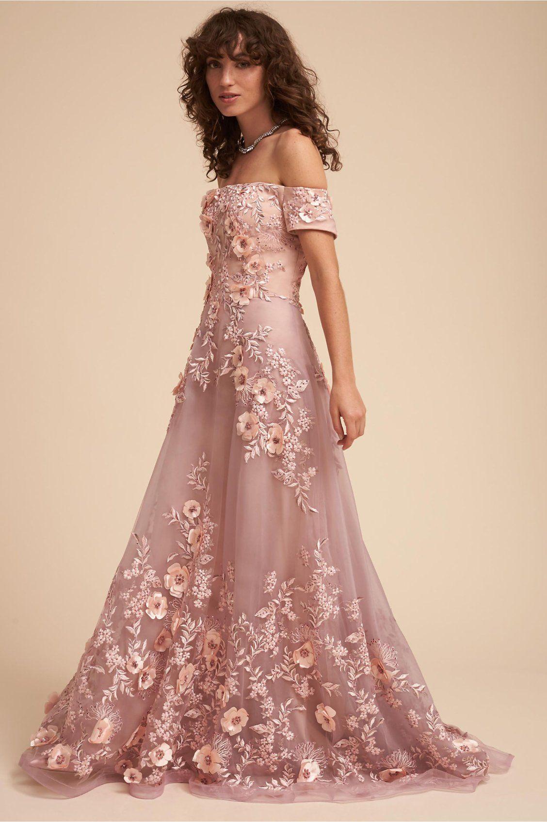 dusty rose | Vandra Dress from BHLDN | Blush Wedding Ideas ...