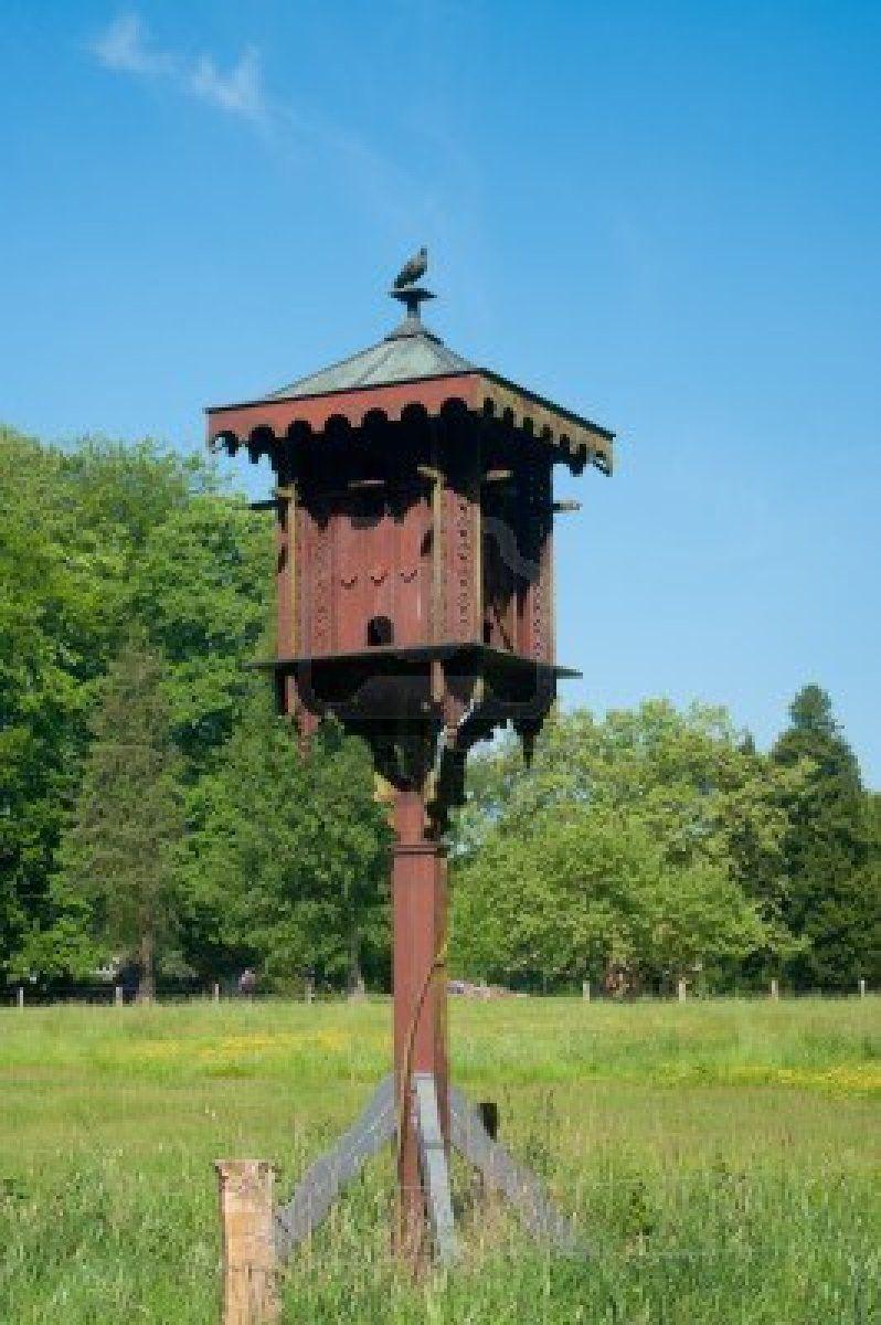 Stock Photo Bird houses, Pigeon house, Outdoor decor