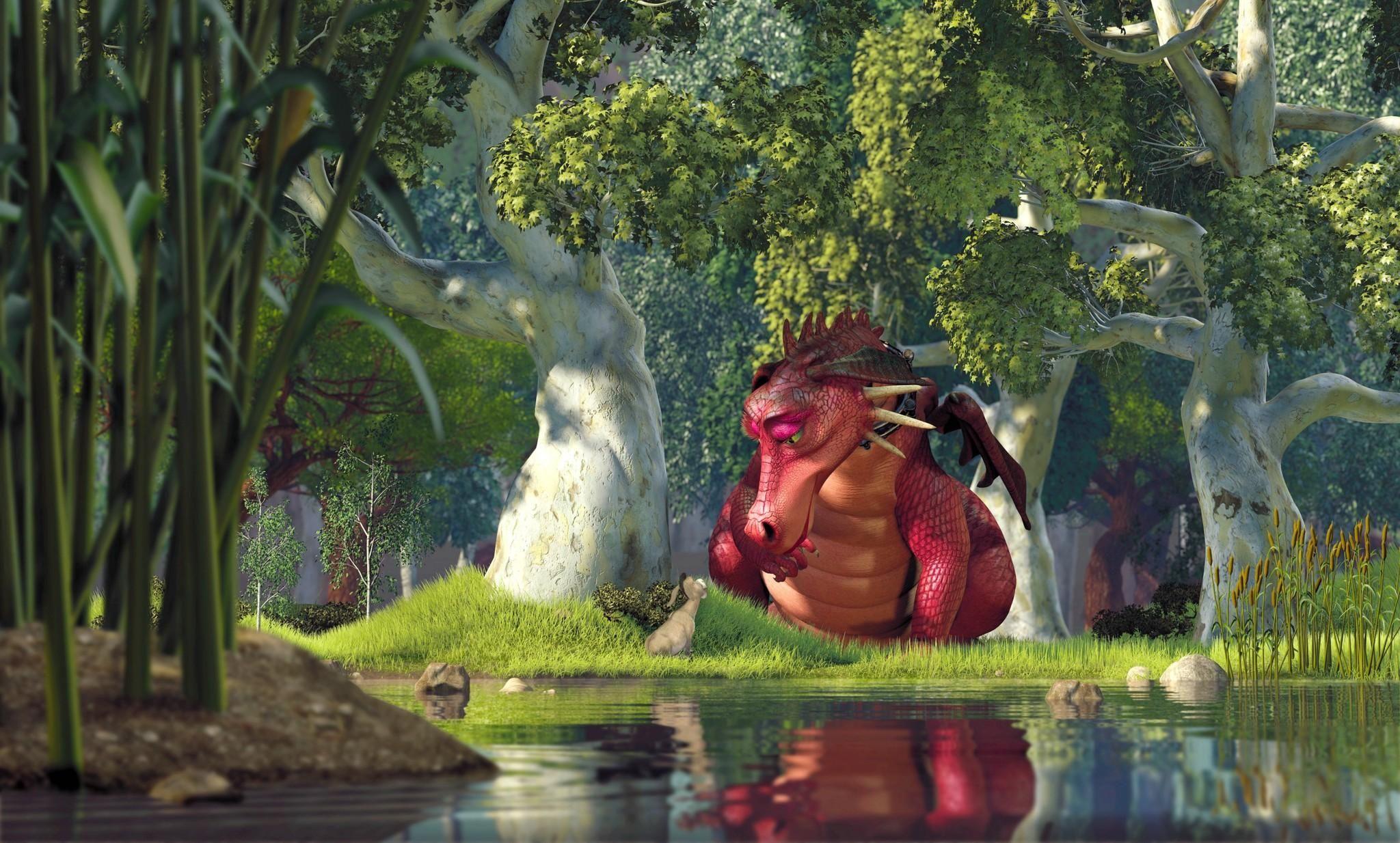 Shrek (2001) Shrek, Animated wallpapers for mobile