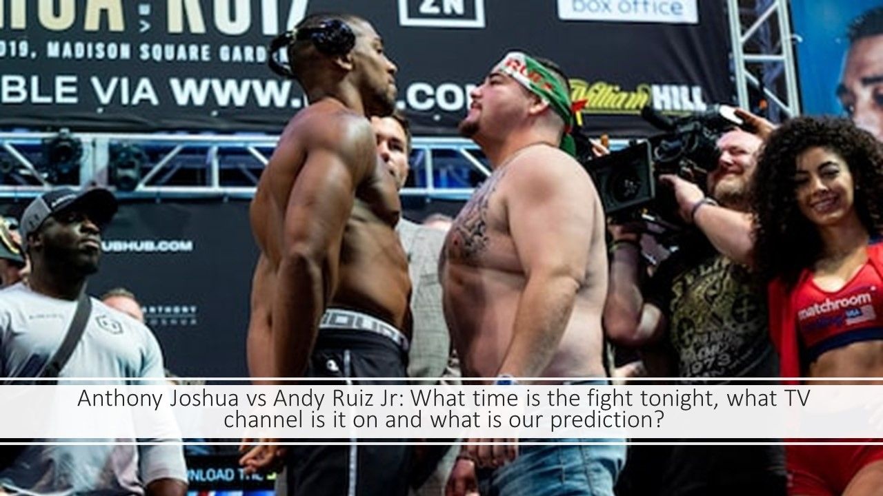Anthony Joshua Vs Andy Ruiz Jr Fight Preview Anthony Joshua Anthony Joshua Vs Anthony Joshua Training