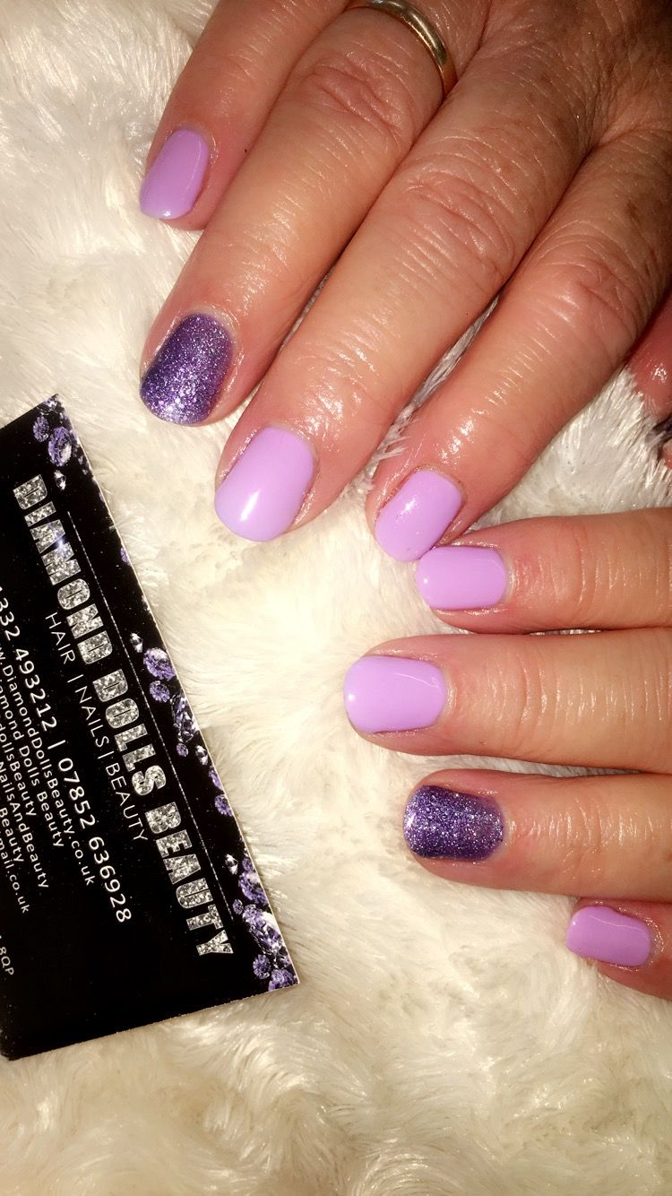 Gel nails by Dee @ diamond Dolls Beauty   Natural nails   Pinterest ...
