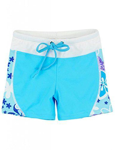 be073e10cc Tuga Girls UPF 50 Swim Shorts (UV Su… | Swim | Girls board shorts ...