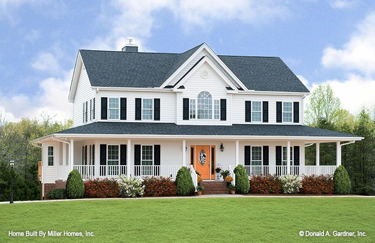 The Riverbend home plan 225 built by Miller Homes, Inc!