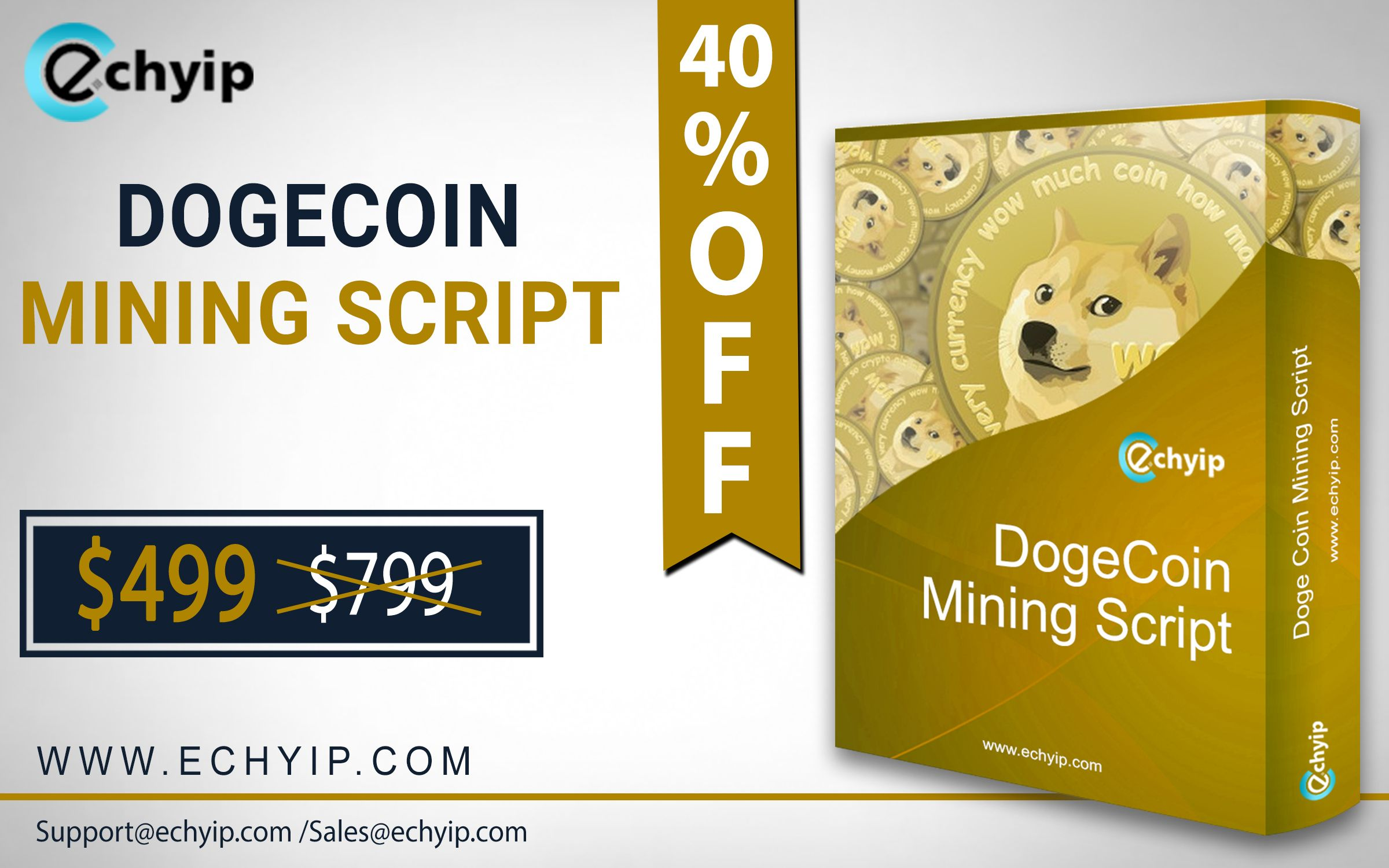 Pick the best Dogecoin Mining Script to start your DogeCoin mining