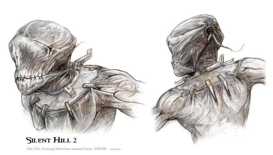 Valtiel Concept Jpg 960 544 Pixels Silent Hill Art Silent Hill