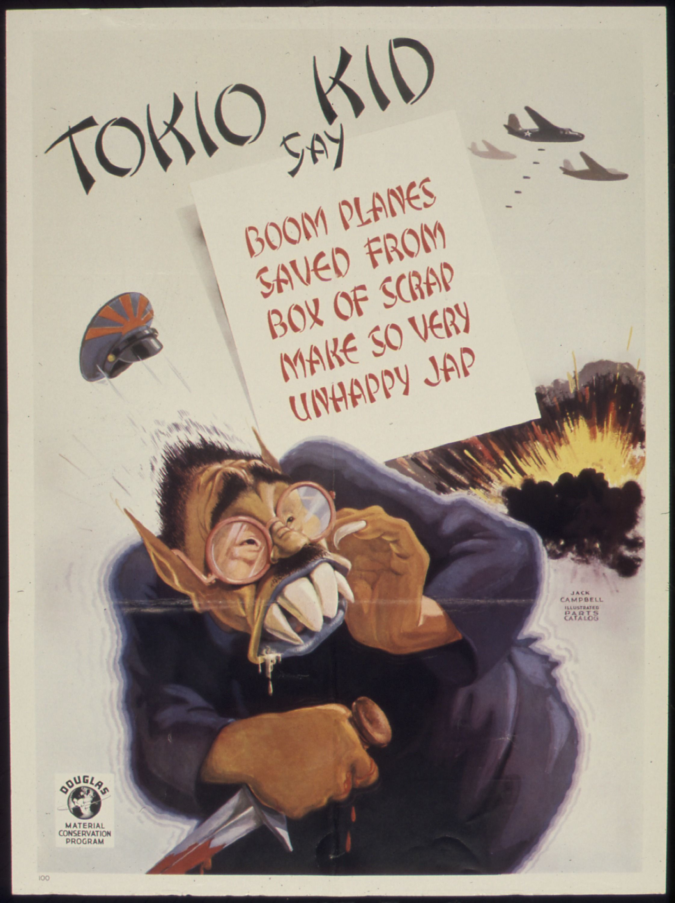 Ww2 American Anti Japanese Poster War Posters Ww2 Posters