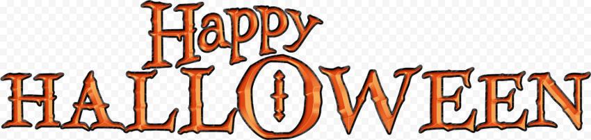 Happy Halloween Text Font Logo In 2020 Halloween Text Happy Halloween Text Fonts