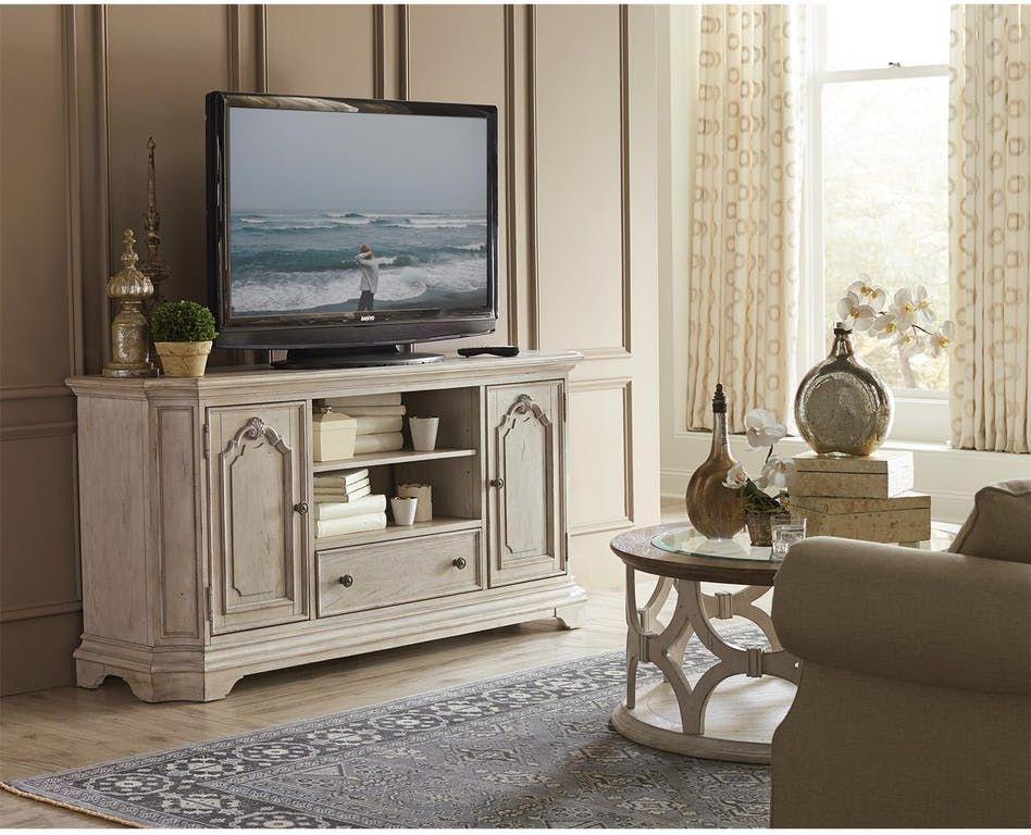 Riverside Home Entertainment Elizabeth 68 Inches Tv Console 71644 Capital Discount Furniture Apex Nc