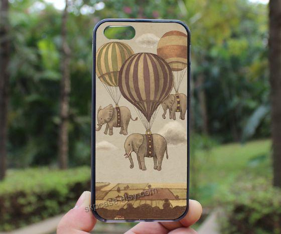 flying elephant UP iphone 4/4s caseDeath Skeleton Side  by skpcase, $7.99