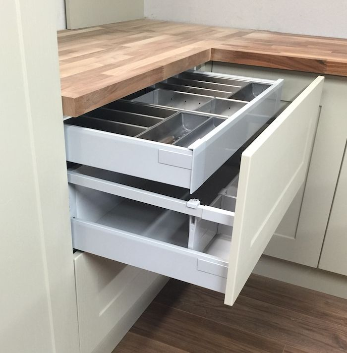 Best Add A Shallow Internal Drawer Above An Existing Pan Drawer 400 x 300