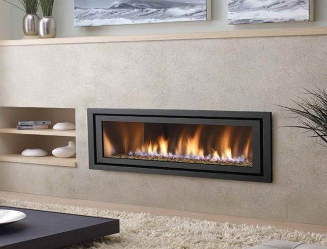 High Quality Modern Ventless Gas Fireplace