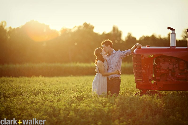 i want a picture just like this, but it better be a green tractor (: