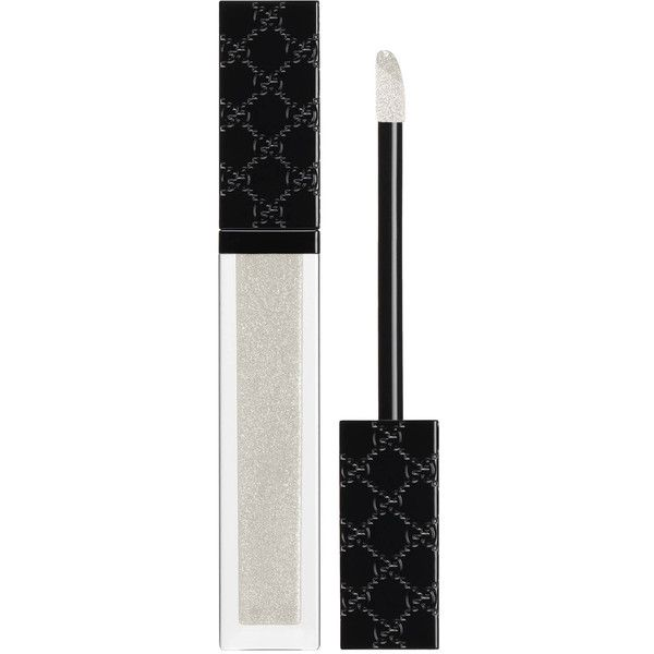 Gucci Mystique White. Vibrant Demi-Glaze Lip Lacquer ($32) liked on Polyvore featuring beauty products. makeup. … | Glossier cosmetics. Glossy ...