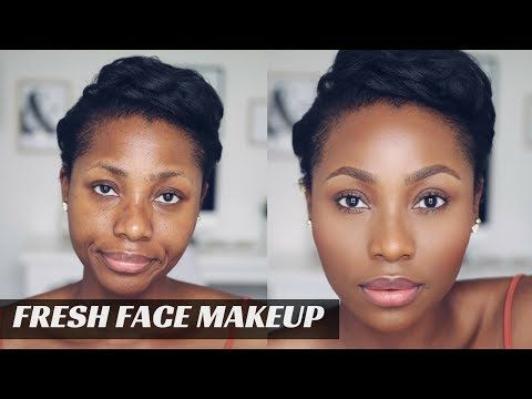 """no makeup"" makeup/ natural fresh face makeup  dimma umeh"