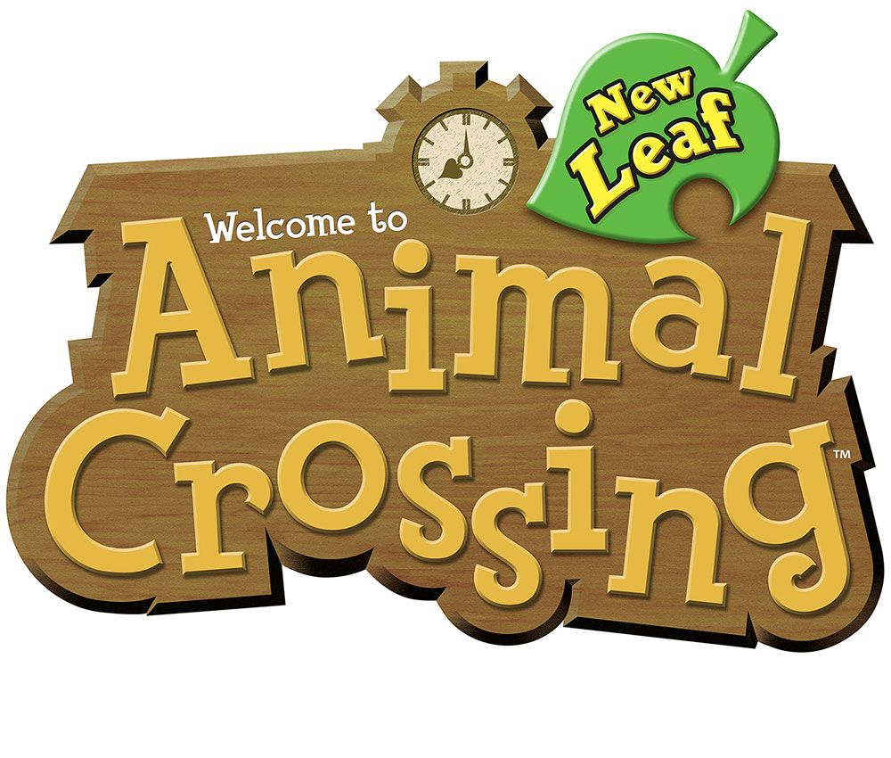 Coloriage Animal Crossing New Leaf.Animal Crossing New Leaf Logo Games Like Animal Crossing Jeux