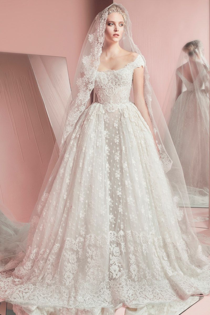 wedding dresses Zuhair Murad Bridal Spring Summer Wedding Dresses