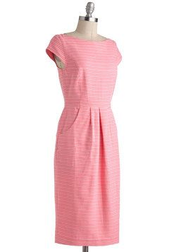Perfect in Pink Dress, #ModCloth