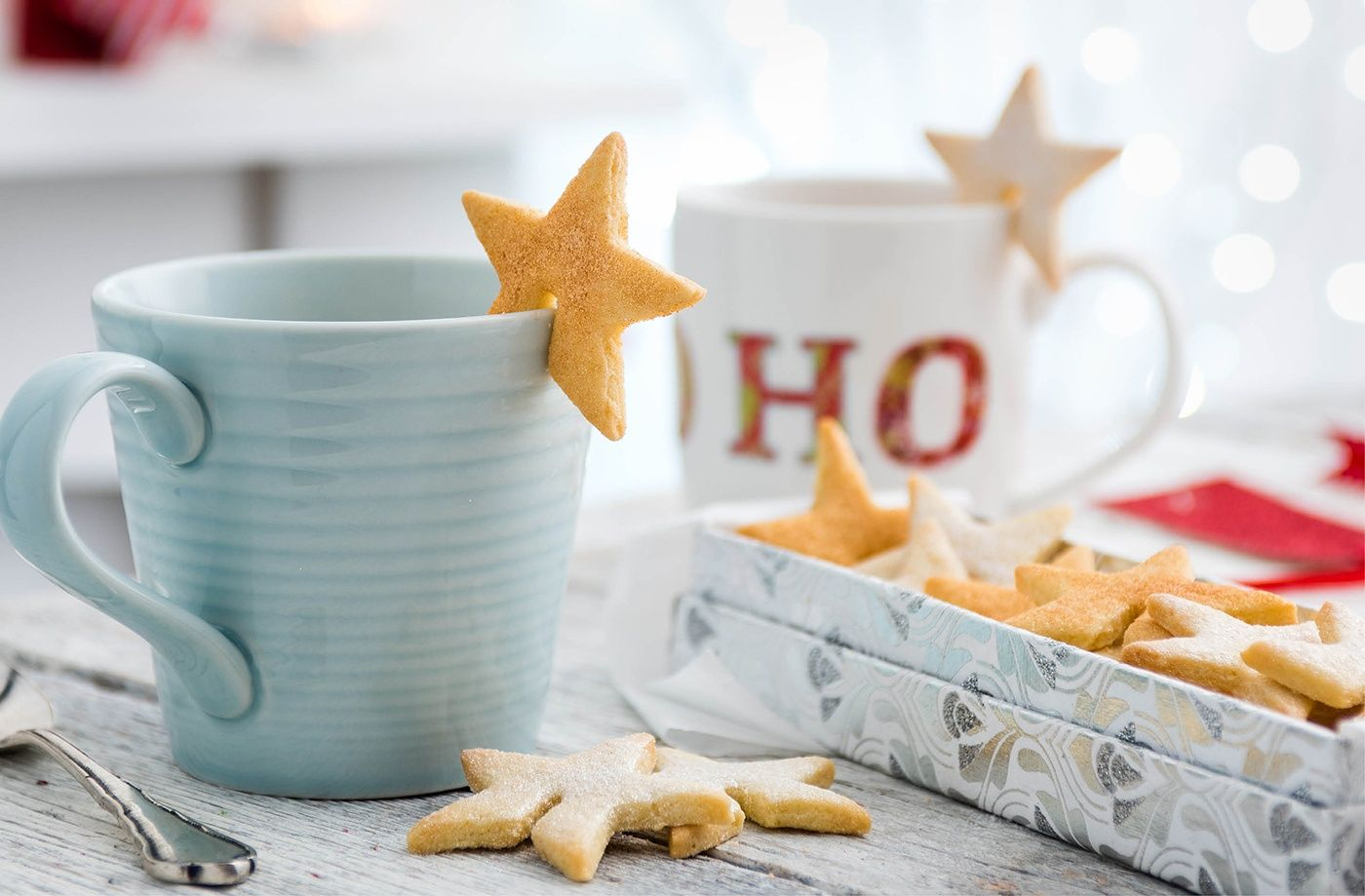 How to make mini star biscuits christmas cooking tesco