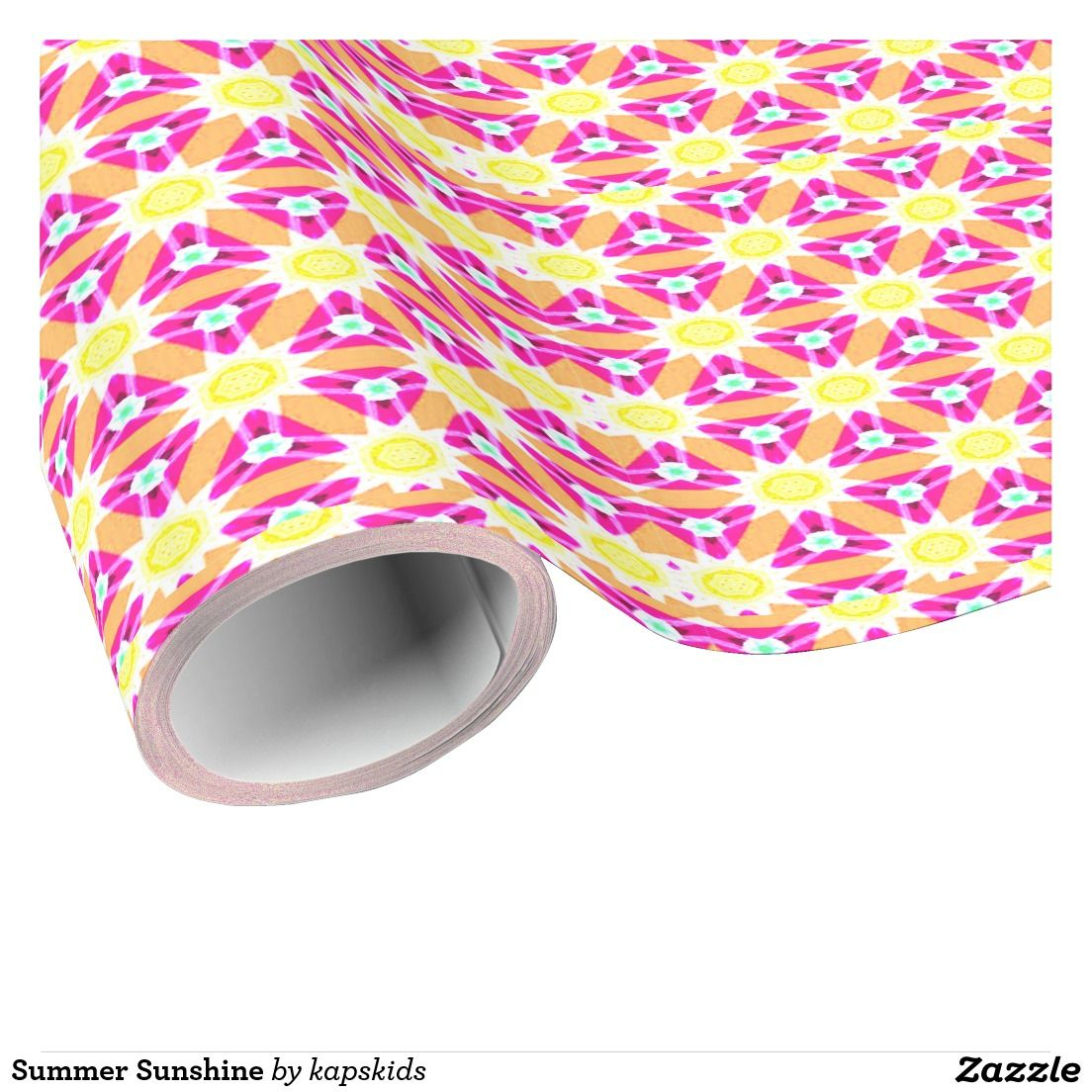 Summer Sunshine Wrapping Paper