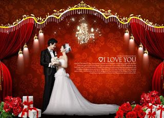 Lovely Wedding Template Psd File Edit Your Photos Wedding Album Design Wedding Wedding Templates