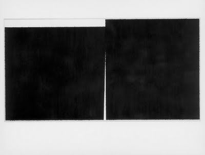 The United States Government Destroys Art, 1989, Richard Serra (American, b. 1939), Paintstick on two sheets of paper | Kindred Subjects: Ar...