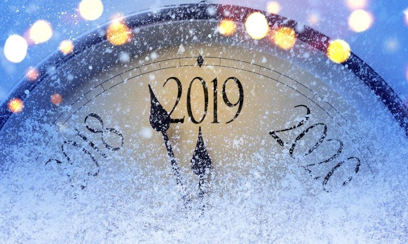 Here's to a New Year & a New Start in 2019 Newyear