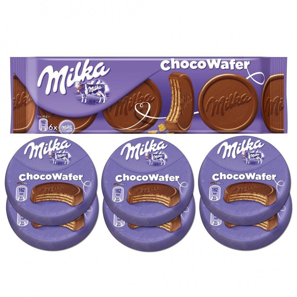Amazon Com Milka Choco Wafer Waffles 180g Biscuits Gourmet