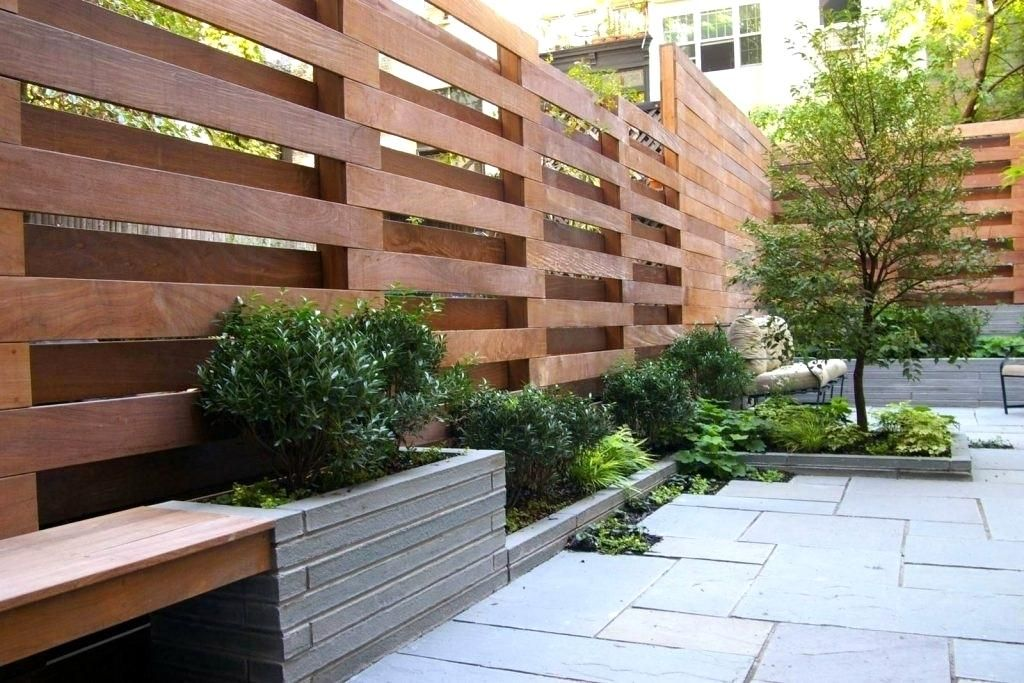 awesome-ideas-patio-fence-rivacy-fence-pictures-creative-ideamodern Contemporary Garden Design W E A on