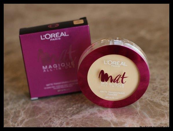 L Oreal Paris Mat Magique All In One Matte Transforming Powder1 Loreal Paris Loreal Paris