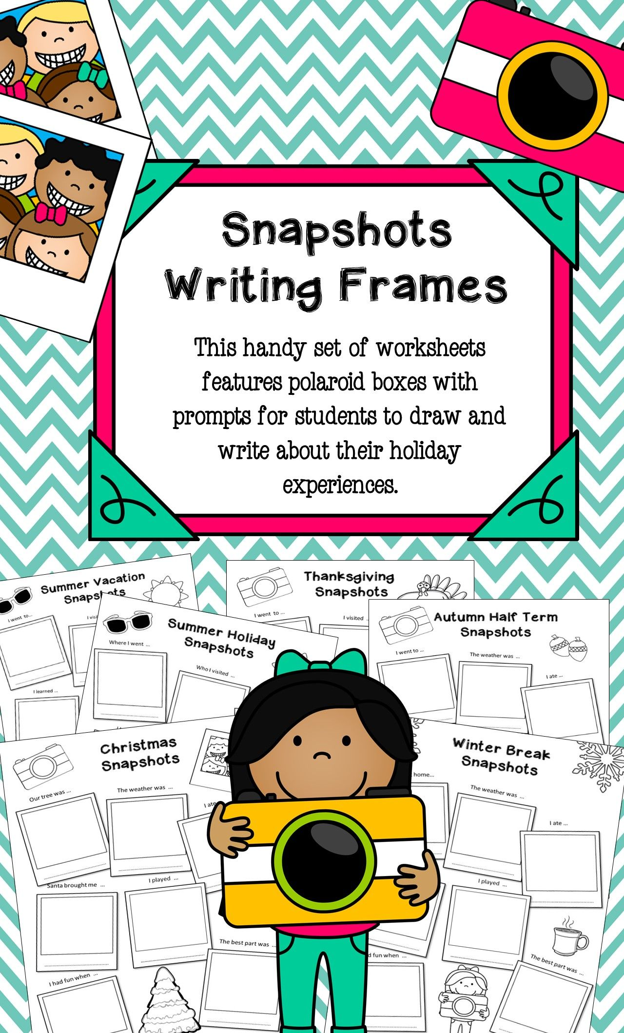 Back To School Writing Frames With Images