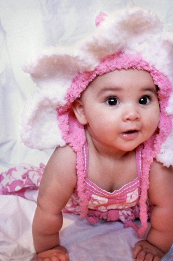 0 to 3m Baby Daisy Flower Hat 2d9aaaf46fc5