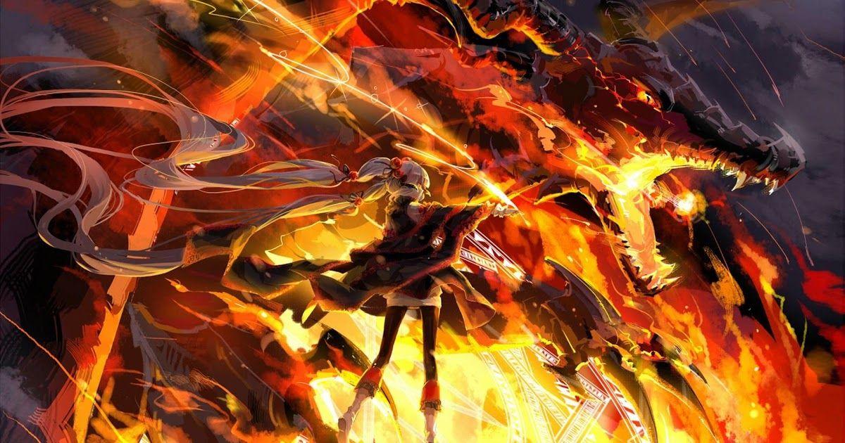 24 Anime Fire Wallpaper Free Download Fire Anime Wallpapers Top Free Fire Anime Backgrounds Download Pixiv Fantasia Konosuba Wallpaper 2560x1440 Wallpaper
