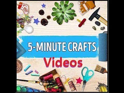 5 minute crafts #newideas #easycrafts #handmadethings