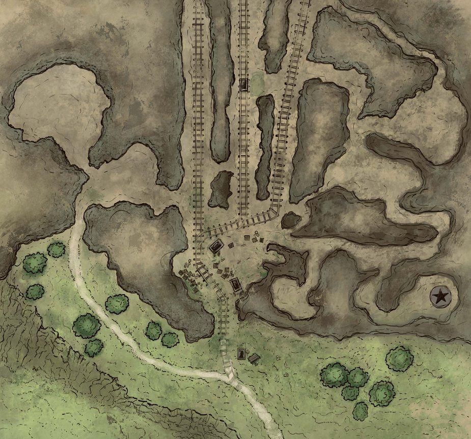 Mine Map By Stephengarrett1019