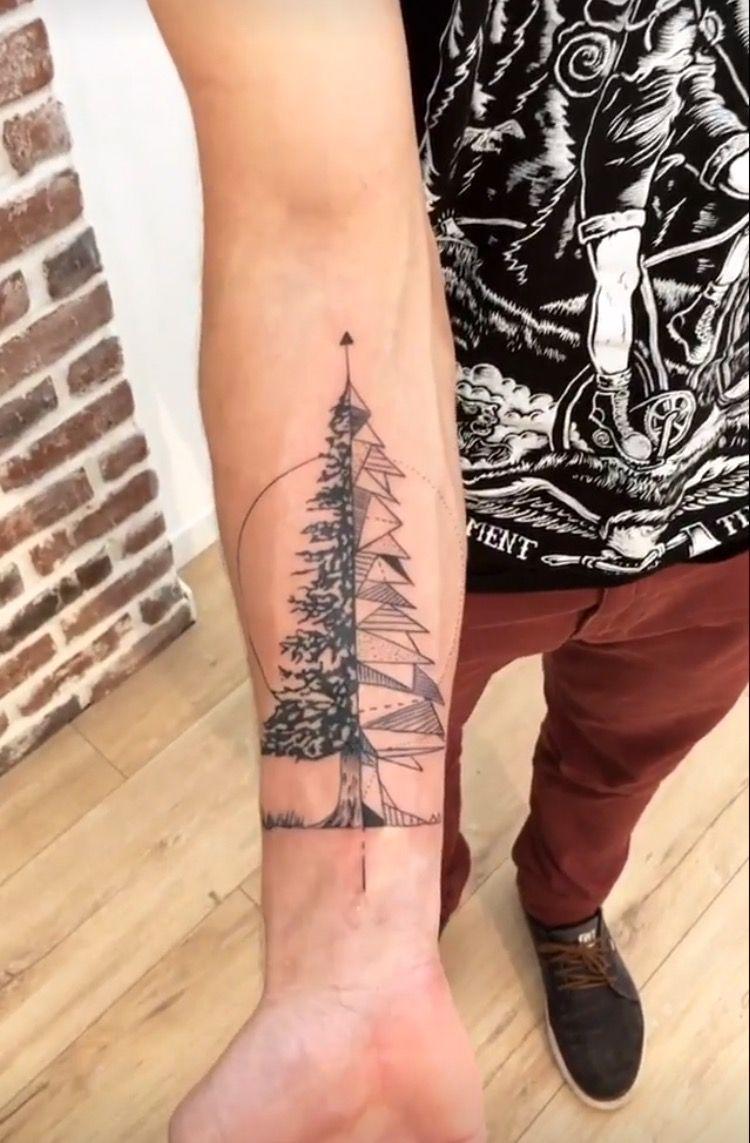 Tatouage Sapin Homme Tatouage Usa Tattoos Tattoo Stencils Tatting