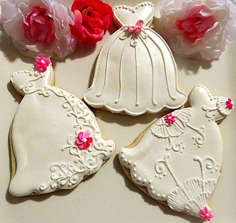 4 dozen light pink March 20 Decorated Sugar Cookies Shimmer Wedding ...