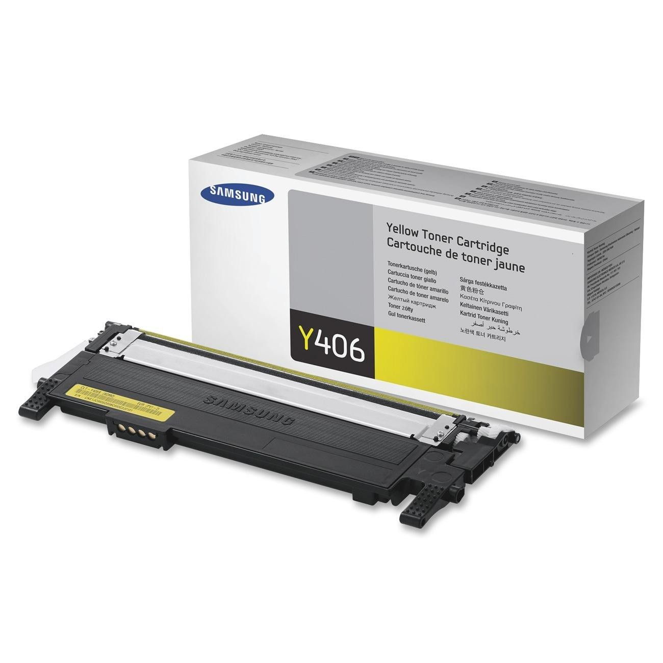 CLTY406S Toner Cartridge, 1000 Page Yield, Yellow