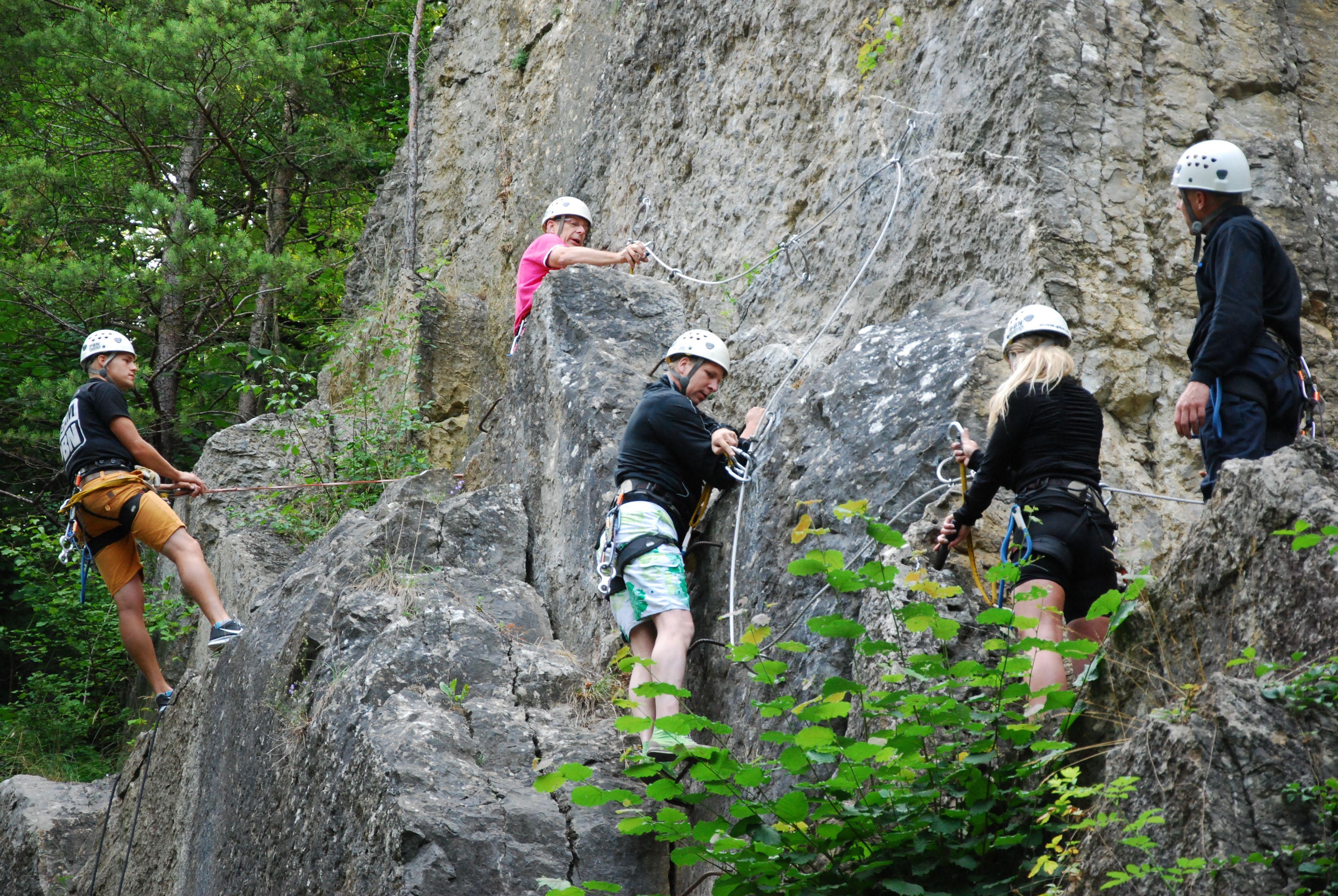 Klettersteig Ardennen : Klettersteig ardennen actief een weekend survival in de