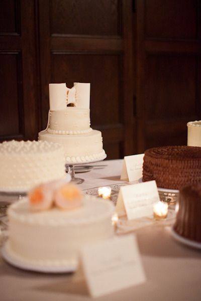 several different cakes