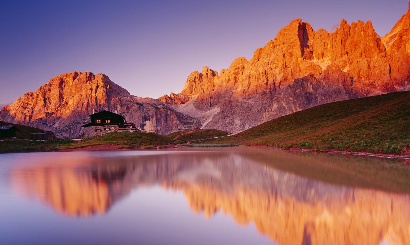 Dolomiti Parco Naturale Paneveggio Pale Di San Martino Trento