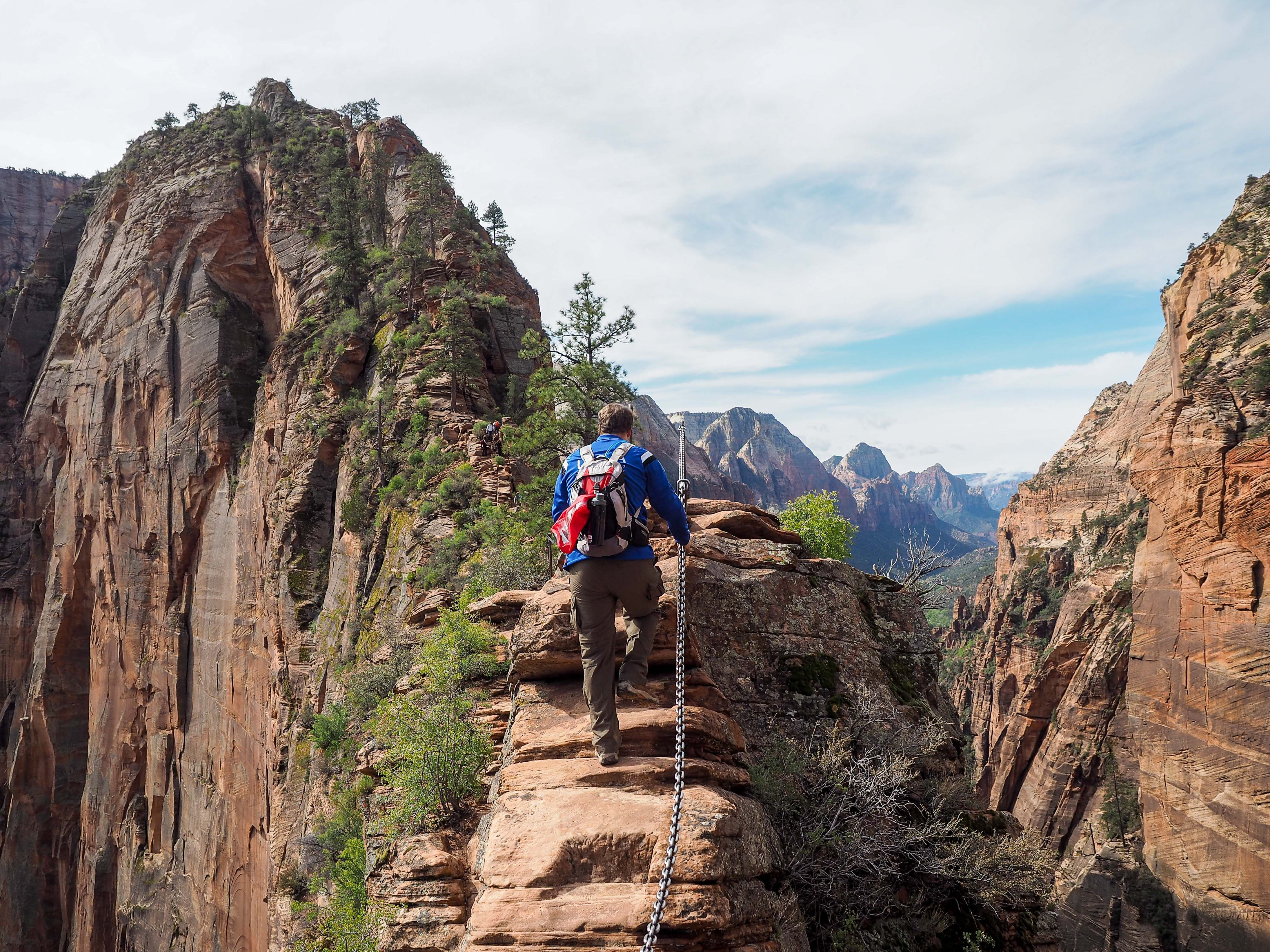 hiking the angels landing trail in zion national park: what's it